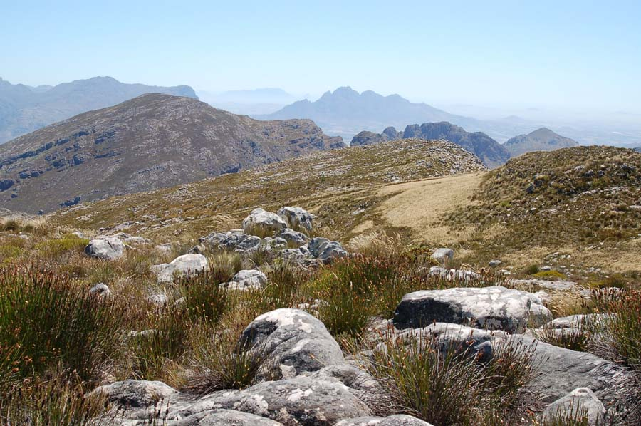 Views, in fact, which stretch all the way back to Cape Town.