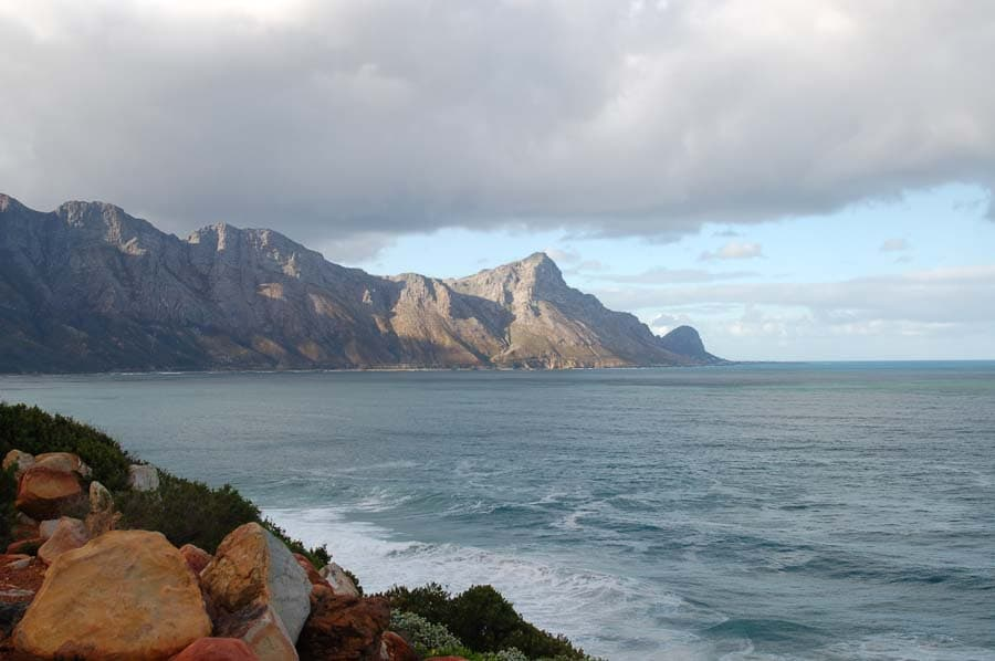 The road to Stony Point makes its way along the eastern side of False Bay, giving you dramatic views all the way.